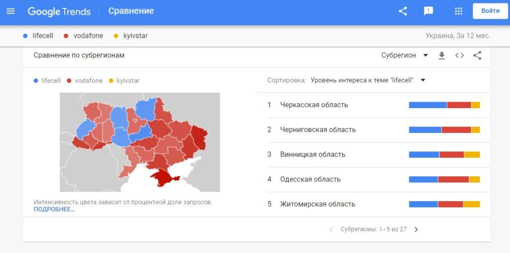 Как использовать Гугл тренды для определения географии спроса
